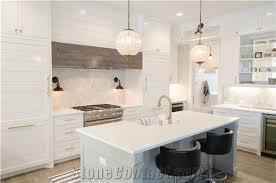 White Quartz Kitchen Ideas