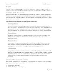 Resume Office Skills Resume Microsoft Office Skills Examples