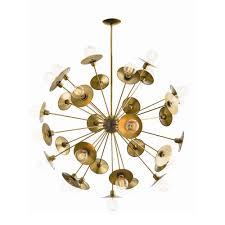 quickship keegan chandelier large brass
