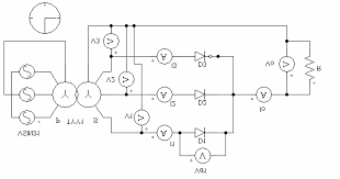 3 2 single phase half wave rectifier performance parameters 3 2 3 2 single phase half wave rectifier performance parameters 3 2 1 the electrical circuit is shown in fig 3 1 a where a