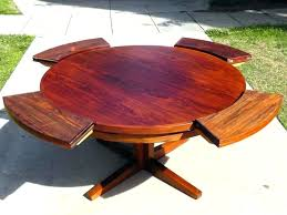expanding round table. Circular Expanding Table Expandable Hardware Round Plans Beautiful .
