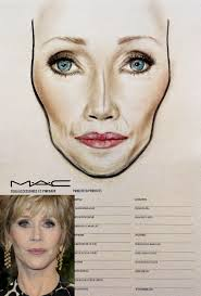 Mac Face Chart By Amalia Bot Face Chart Copy The Look