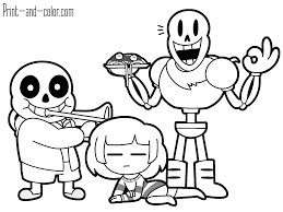 undertale coloring pages to print undertale coloring pages papyrus