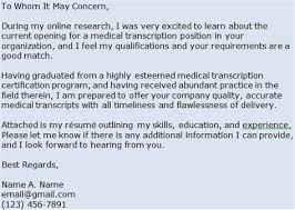 Medical Transcriptionist Resume Samples Tomyumtumweb Com