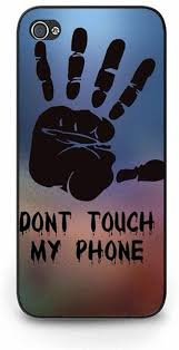 Free hd don t touch my phone photos. Durable Iphone 5c Phone Case Don T Touch My Phone Theme Handprint Wallpaper Design Back Cover Case For Iphone 5c Amazon Co Uk Electronics