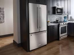 Kitchen Aid Kitchen Appliances Kitchenaid Stainless French Door Refrigerator Krfc302ess