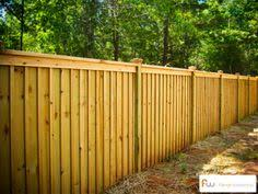 wood privacy fences. Traditional Board And Batten Wood Privacy Fence Style. Fences