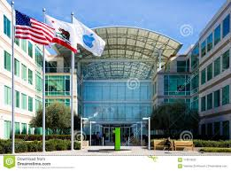 cupertino apple office. Apple Infinite Loop, Cupertino, California, USA - January 30, 2017: Stuff In Front Of The World Headquarters Cupertino Office C
