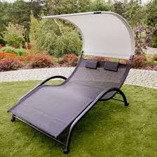 portable double chaise lounge hammock
