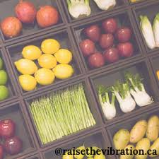 Food Vibrational Frequency Chart High Vibration Foods Raise Your Vibration