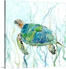 sea turtle wall art sea turtle swim ii tropical ocean sea turtle metal wall art decor on tropical ocean sea turtle metal wall art decor with sea turtle wall art pierwszy fo