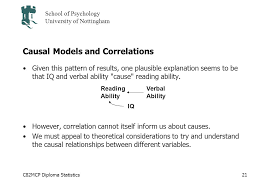 cmcp diploma statistics school of psychology university of  c82mcp diploma statistics school of psychology university of nottingham 21 causal models and correlations given this