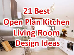 open plan living room interior design ideas. 21 best open plan kitchen living room design ideas - deconatic youtube interior