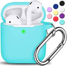 AirPods Case Cover with Keychain, Full Protective ... - Amazon.com
