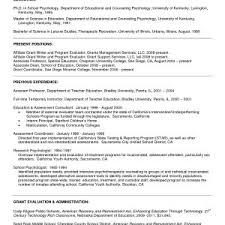 Sample Resume Objectives For College Graduates Best High School