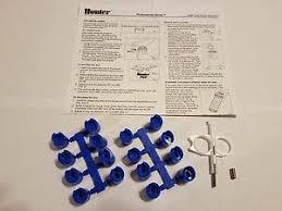 Details About Hunter Irrigation Pgp Blue Nozzle Kit 2 Nozzle Racks Hex Screw Key Guide