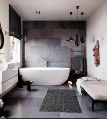 Boden Fliesen Teppich Wohnaccessoires Modern Badezimmer Grau
