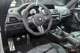 Coupe Series bmw m performance steering wheel : BMW M2 with M Performance Parts Alcantara steering wheel at 2016 ...