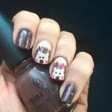 Hedgehog Nail Art Ideas   POPSUGAR Beauty Photo 3