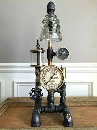 steam punk glass insulator lamp lights columbia tn delicate methods old insulators