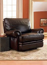 dark brown leather recliner chair. Chocolate Brown Leather Recliner Dark Chair I