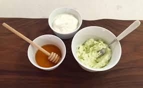 the elegant luxe life honey yogurt mashed avocado