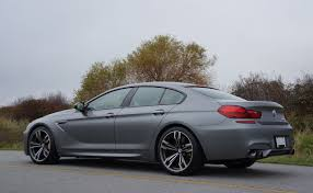 BMW Convertible bmw m6 coupe price in india : 2014 BMW M6 Gran Coupe Road Test Review | CarCostCanada