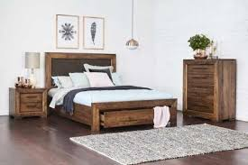 king bed with drawers. Aspen Queen Size Timber Bed King With Drawers U