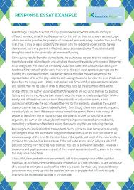 example of response essays even the best writers need some help  example of response essays even the best writers need some help writing see this perfect