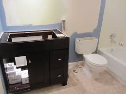 Small Bathroom Remodel On A Budget  Future Expat - Bathroom remodeling st louis mo