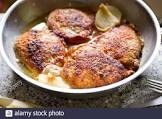 breaded pork chops with onion