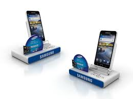 Cell Phone Display Stands Professional For The Acrylic Display StandLED SignagePOP Display 35