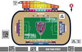 Michael Carroll Soccer Stadium Indy Eleven Football Tripper