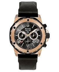 147 best images about men s watches skeleton bulova men s chronograph black rubber strap watch 44mm 98b104