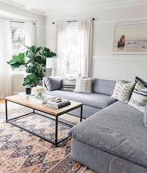 Light grey couch Rug Living Room Cozy Couch Patterned Carpet Minimalist Table Plants Pinterest Living Room Cozy Couch Patterned Carpet Minimalist Table Plants
