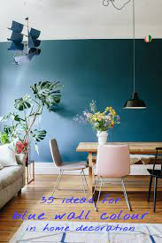 35 ideas for blue wall colour in home ...