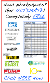 workout sheets coach mikes ultimate worksheets team right now fitness beachbody