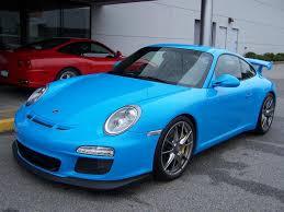 2010 Porsche GT3 in Riviera Blue | Porschebahn Weblog