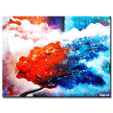 amazing step by step abstract landscape art lesson hot to cold part 1 you