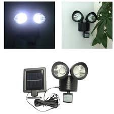 LED Solar Powered Outdoor Security Light With PIR Motion Sensor Solar Sensor Security Light
