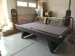 can you set up a pool table in a garage