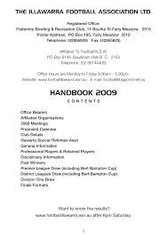 HANDBOOK 2009