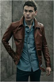 sid wears beckham for belstaff ryde jacket lowry shirt and harpton denim