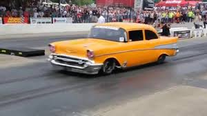 Jeff Lutz New Car The Tri Five Nationals Youtube