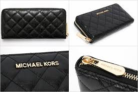 Rakuten Ichiba Shop WORLD GIFT cavatina | Rakuten Global Market ... & Michael Kors MICHAEL KORS wallets purses women's zip quilted SUSANNAH ZA  CONTINENTAL black 32H4GAHE3L 001 Adamdwight.com