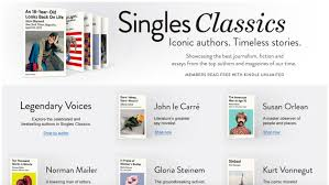 "amazon launches singles classics to resell timeless essays from  amazon this morning is introducing a new way to short form content on kindle devices and in the kindle app the launch of ""singles classics"