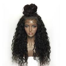 Latest Synthetic Lace Front Wig Kinky Curly Long Length with Baby Hair Natural Looking 2019 With