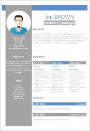 Resume Templates Microsoft Word 2010 Publicassets Us