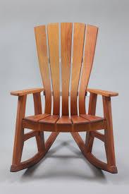 wooden chair front view. Sunniva Outdoor Garden Rocking Chair Wooden Front View