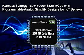 Renesas Design New Renesas Synergy Low Power S1ja Microcontrollers With
